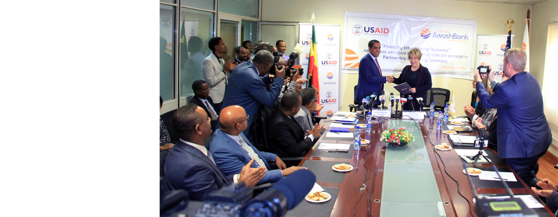 USAID and Awash Bank Partnership Expands $6.4 Million in Credit Opportunities to Agriculture Enterprises in Ethiopia