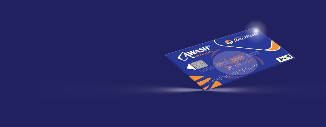 Awash Bank offers easy & convenient to use prepaid cards