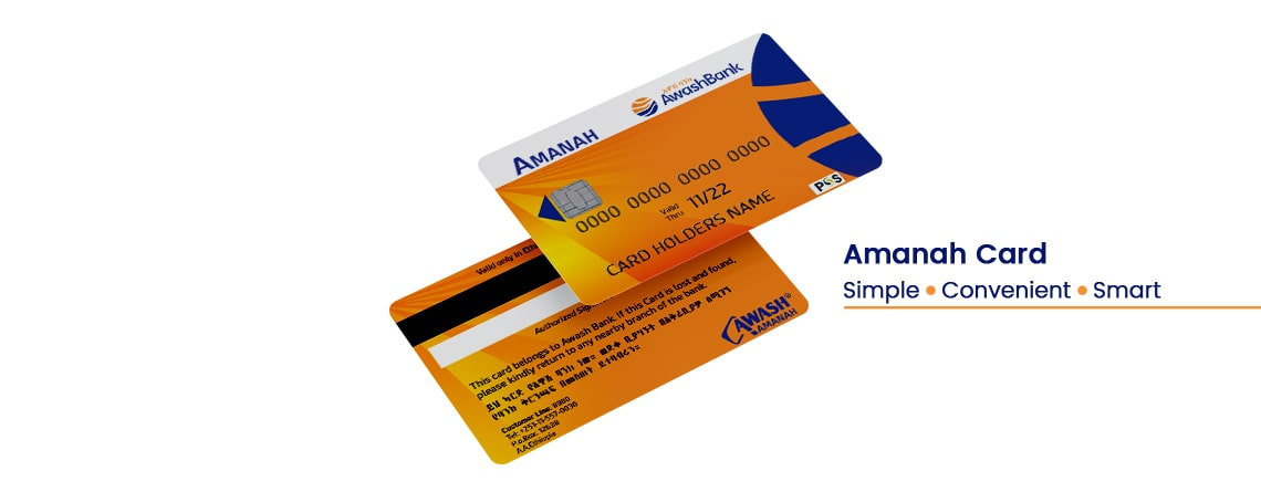 Use Amanah Card for your Transaction Needs