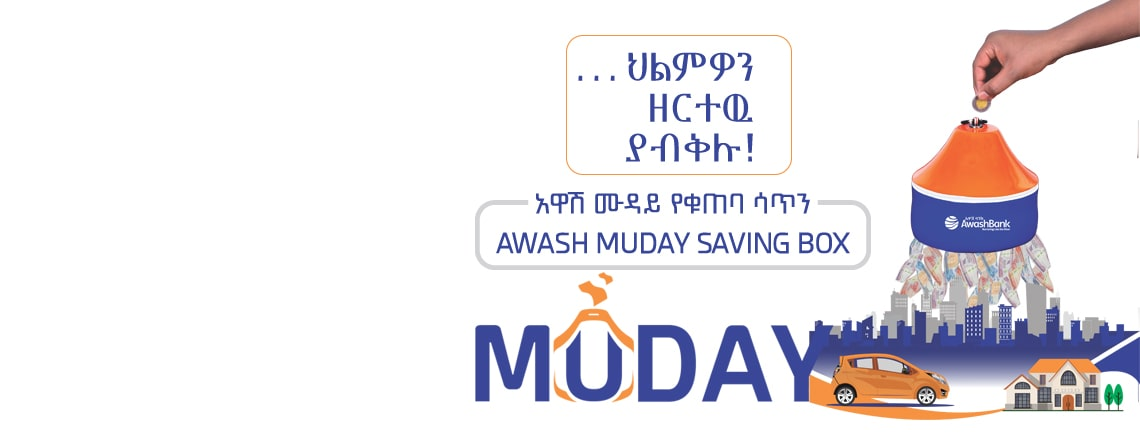 Awash Muday Saving Box